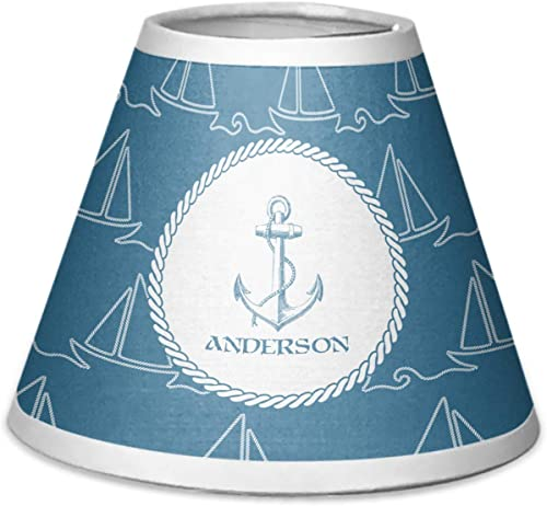 RNK Shops Rope Sail Boats Chandelier Lamp Shade Personalized
