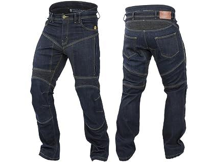 Rabatt-Verkauf am besten bewerteten neuesten zu verkaufen Trilobite AGNOX Damen Motorrad Jeans wasserdicht - blau Größe Inch 34