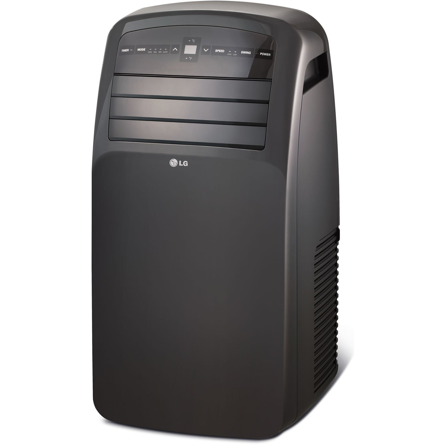 Lg Lp1417gsr 115v Portable Air Conditioner With Remote Control Circuit Board For Ac And In Graphite Gray Rooms Up To 400 Sq Ft Home Kitchen