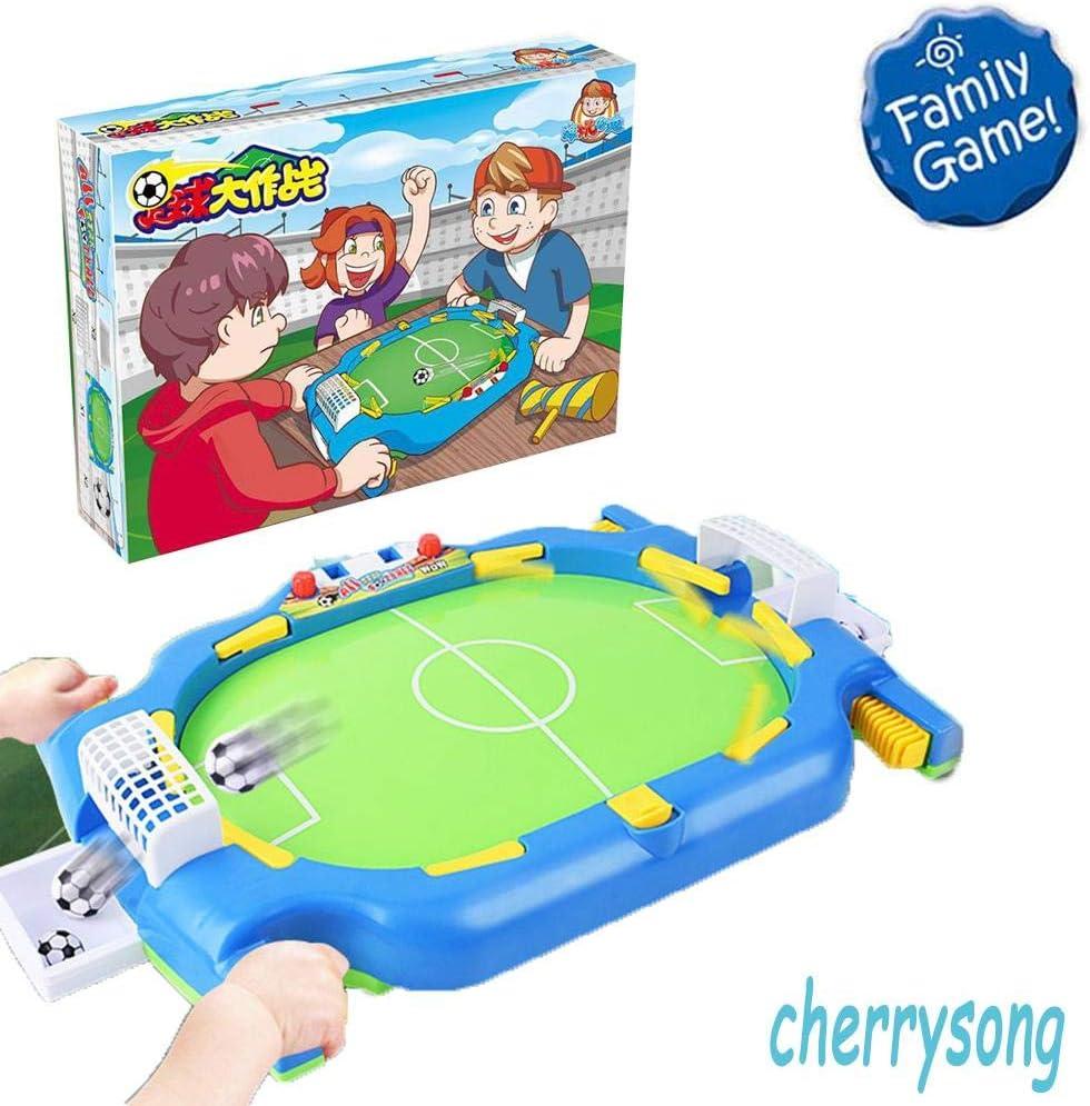 Futbolín de Mesa para 2 O 4 Jugadores,Mini Juguetes de desafío de fútbol para niños: Amazon.es: Hogar