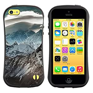 Pulsar iFace Series Tpu silicona Carcasa Funda Case para Apple iPhone 5C , Nature Beautiful Forrest Green 120