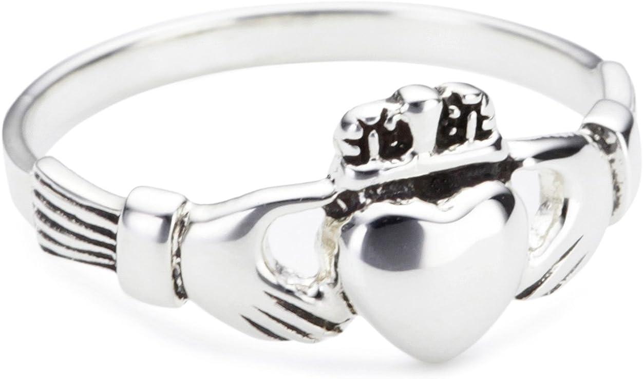 Heritage Women Sterling Silver Celtic Open Knotwork Ring