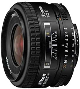 Nikon Nikkor AF f2D Lens, Black