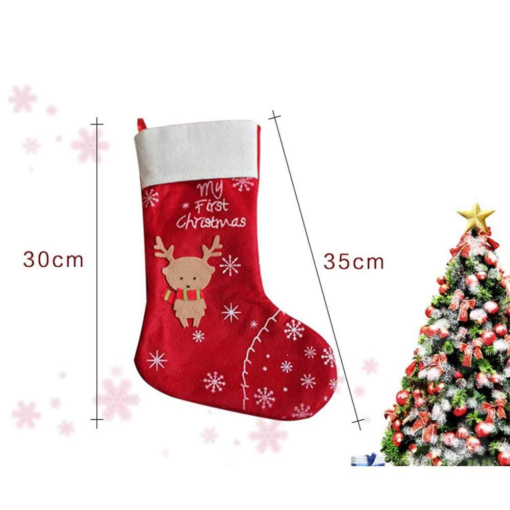 Lomas 1 PCS Weihnachtsschmuck Weihnachtsanhänger Socken die ...