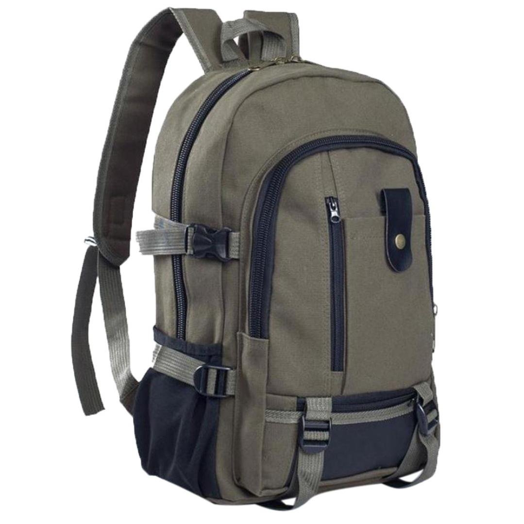 Travel Backpack Daypack,Realdo Canvas Fashion Simple Double-Shoulder Great Storage Schoolbag Hot