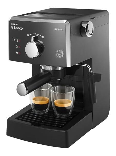 Philips Saeco - Cafetera (Independiente, Manual, Espresso ...
