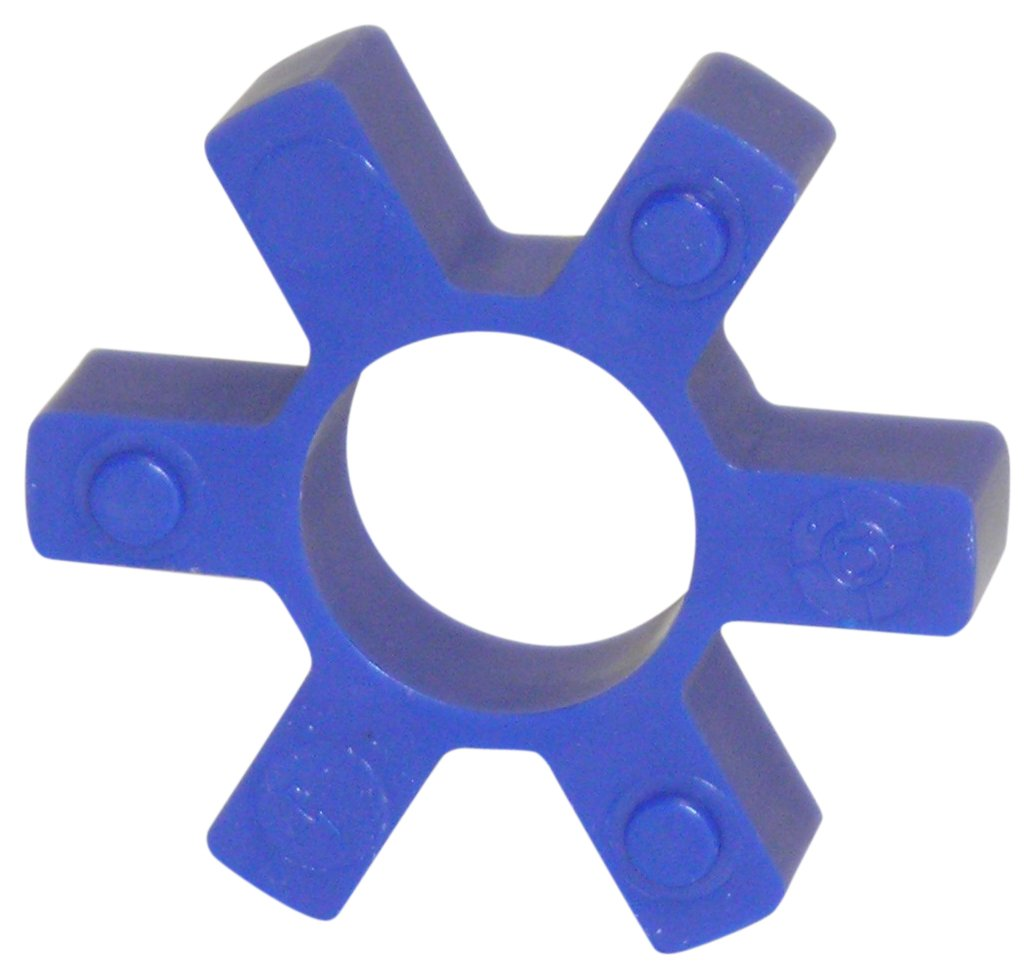 Lovejoy 11075 Size L-AL 090-095 Open Center Type Jaw Coupling Elastomer, Urethane, 7/8'' Open Center, 2.12'' OD, 0.44'' Length, 291 in-lbs Nominal Torque