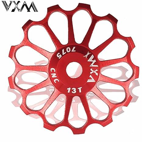VXM 17T MTB Ceramic Bearing Jockey Polea De Rueda para bicicleta de carretera bicicleta cambio trasero