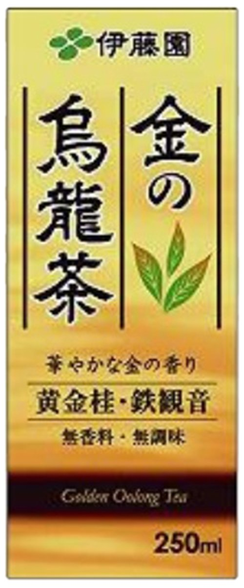 ITO EN gold oolong tea (paper pack) 250mlX24 this