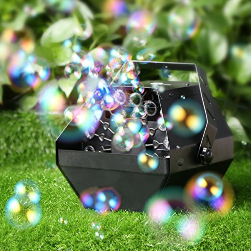 1byone Professional Bubble Machine with High Output, Automatic Blowing Mechanism for Outdoor or Indoor Use