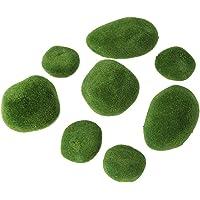 Vosarea 20 Piezas de Musgo Artificial Rocas Decorativas