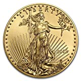 The Gold American Eagle is based on Augustus Saint-Gaudens' 1907 $20 Gold Double Eagle, showing a proud Lady Liberty. With an iconic design and 1 oz of Gold, the 2018 Gold Eagle combines collectibility with bullion investment appeal.