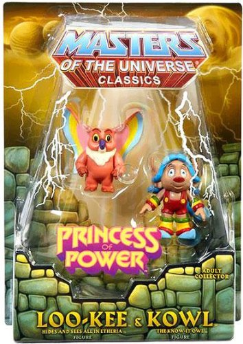 He-Man Masters of the Universe Classics Exclusive Action Figure Set Loo-Kee & Kowl