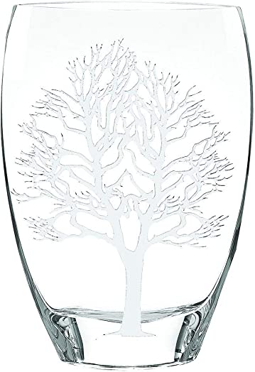 Badash – Tree of Life European Mouth Blown and Hand Decorated Vase h11.5×7