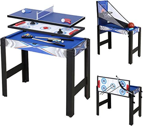 homelikesport Table Multi Games 5 en 1 Juegos de Mesa, para Hockey ...