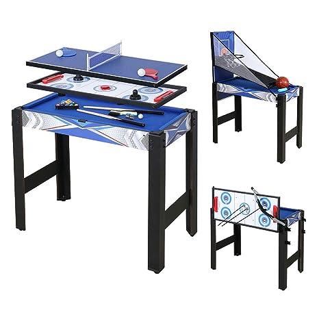 homelikesport Table Multi Games 5 en 1 Juegos de Mesa, para Hockey ...