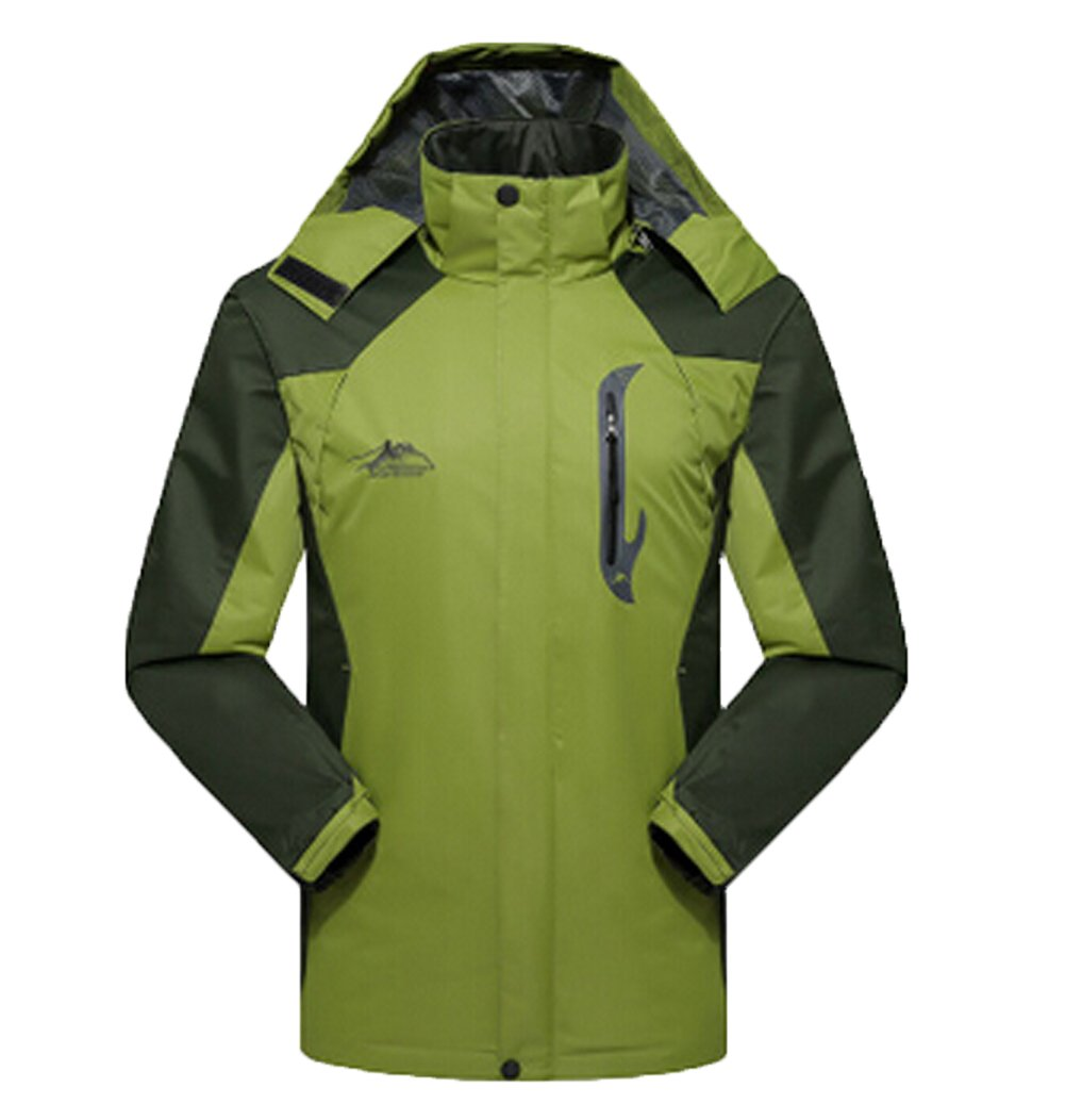 BIKMAN Couple Sportswear Hooded Ski Outdoor Raincoat Waterproof Jacket