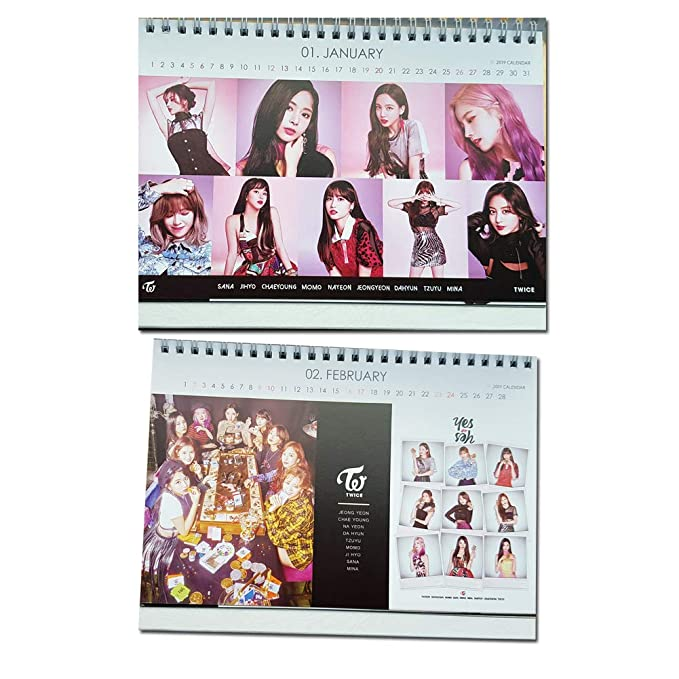Doble Calendario 2018 con Stickers- twicetagram álbum ...