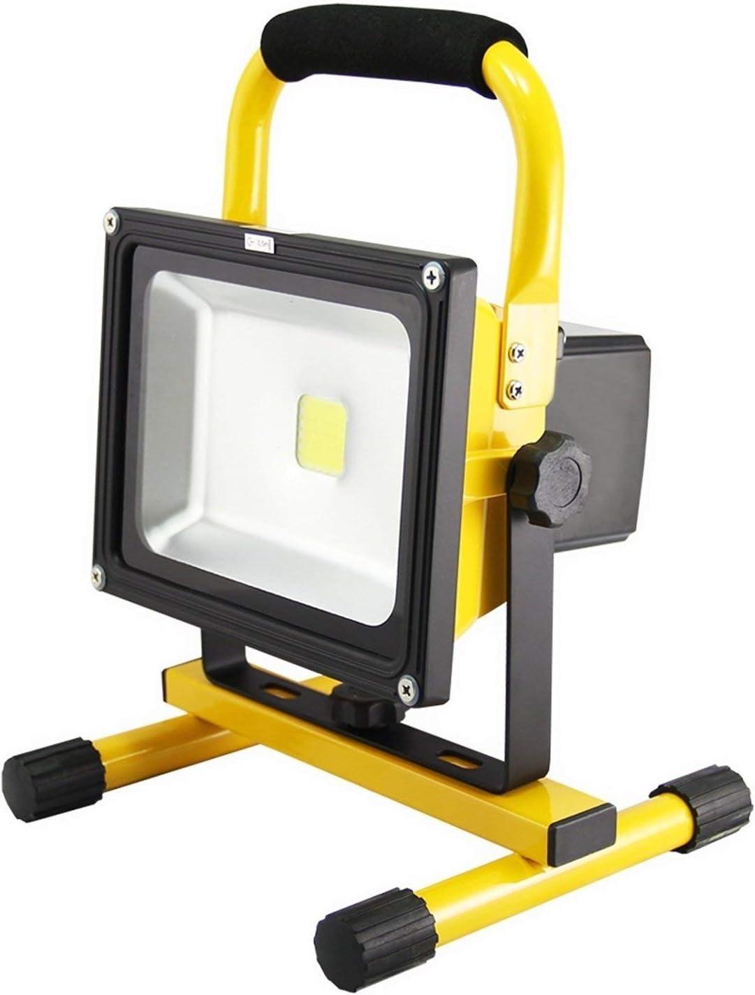 Froadp Projecteur de chantier LED Batterie
