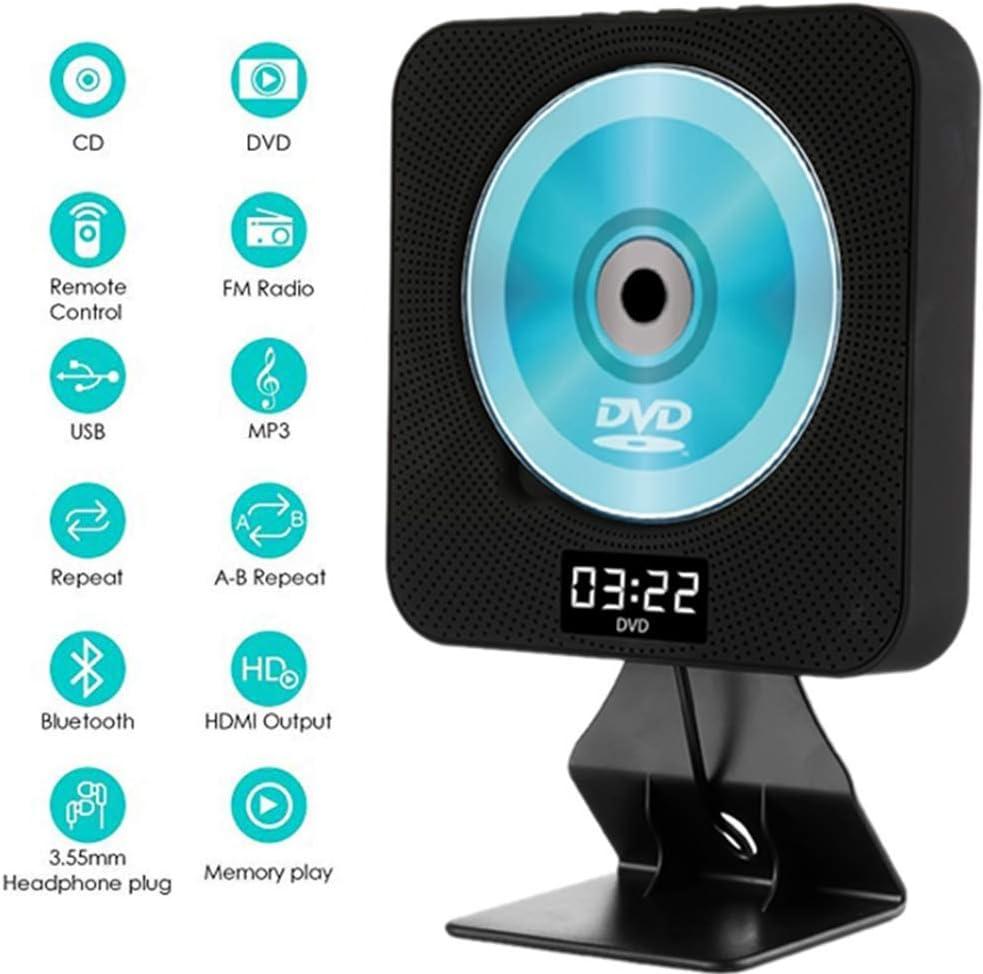 Calistouk Reproductor de DVD CD Portátil de Música Bluetooth ...