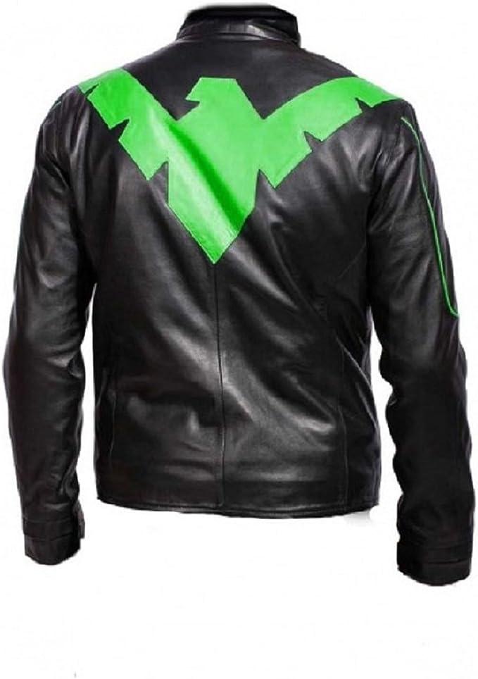 Bestzo Men/'s Fashion Ryan Gosling Famous Drive Scorpion Jacket White