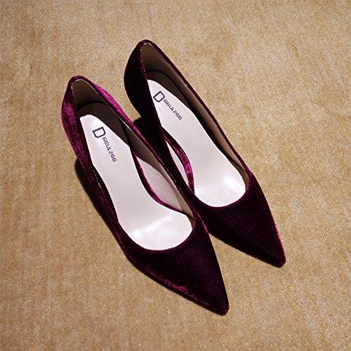 de de Zapatos Zapatos Xue tac Corte Qiqi la EnTXUYq