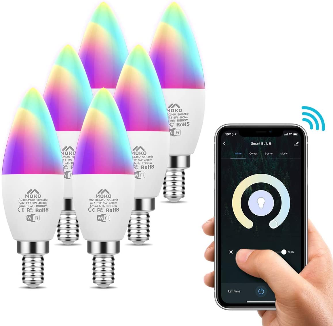 MoKo Smart LED Light Bulb