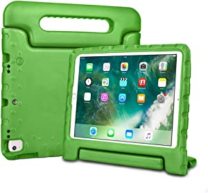 Bolete iPad 10.2 case 2019 / iPad Air 10.5 2019 Case, Lightweight Handle Stand Kids Cover Compatible with iPad Air 3rd Generation 10.5inch 2019 / iPad 10.2 inch 2019 Release Tablet, Green