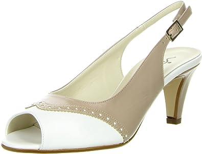 Vista Damen Sling Pumps beige, Größe:37;Farbe:Beige