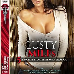 Lusty MILFs Audiobook