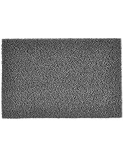 GMI Plastic PVC Noodle Floor Mat, Grey, 40x60CM