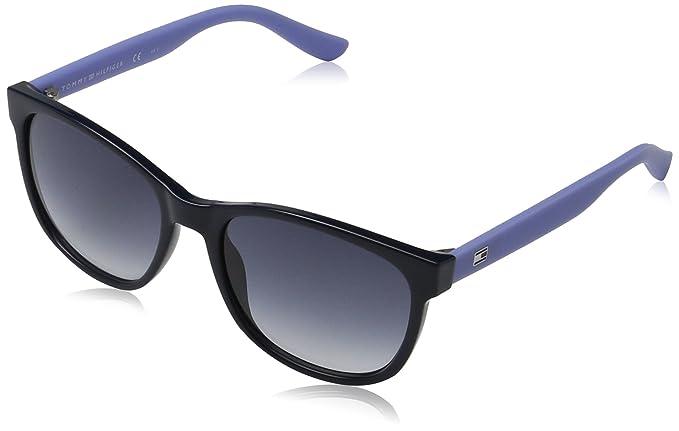 Unisex-Adults TH 1416/S IT Sunglasses, Blue Lilac, 54 Tommy Hilfiger