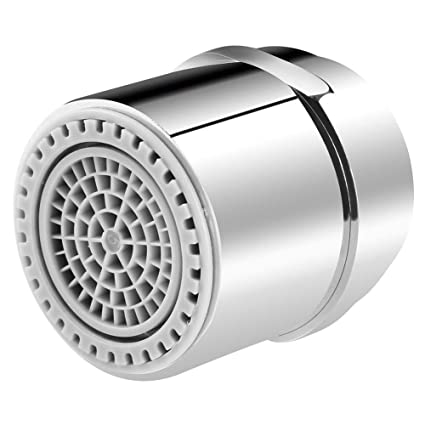 Dual-Thread Kitchen Sink Faucet Aerator, Tap Aerator Sprayer for Bathroom  Faucet, Water Saving Flow, 1.2/1.8 GMP, Brass 15/16 Inch Male Thread