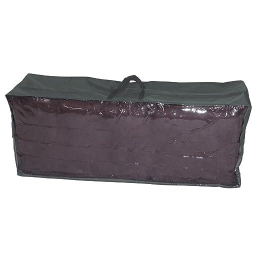 greemotion Housse de protection pour coussins de jardin – Housse de  rangement pour coussins de salon de jardin – Sac de stockage imperméable et  ...