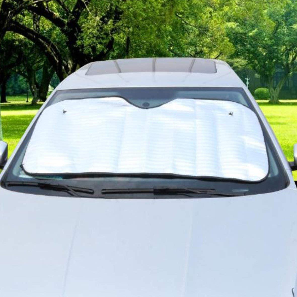Pare-soleil unilat/éral de voiture Fen/être avant de voiture Pare-soleil disolation de papier daluminium #Pennytupu