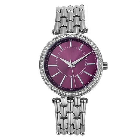 GAOY Watch Relojes Señora Reloj De Moda A Prueba De Agua Diamante Brillante Cuarzo Analógico Delgado