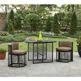 NEW Murray Hill 3-Piece Small Space Aluminum Set