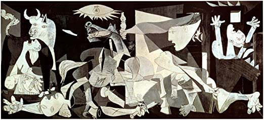 Amazon Com Guernica By Pablo Picasso Art Print 54 X 28 Inches Posters Prints