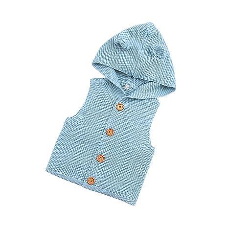 0b57b654c Amazon.com  chinatera Baby Boys Girls Knitting Vest Winter Sweaters ...
