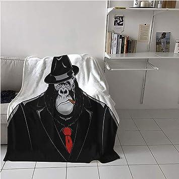 Amazon.com: WodCht Gorilla Blanket Soft,Formidable ...
