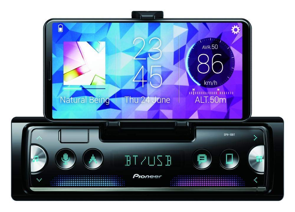 Inex Pioneer SPH-10BT Apple car play Android Auto Pioneer car stereo  bluetooth USB BT