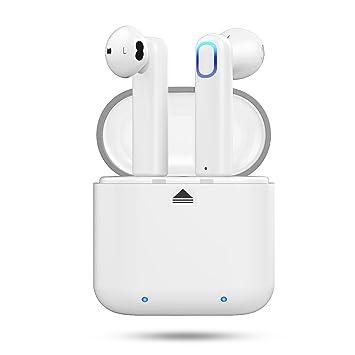 Auriculares Inalambricos, Bluetooth 4.2 Manos Libres Bluetooth Auriculares inalambricos in Ear con Cargador Portátil y Reducción de Ruido para iOS y ...