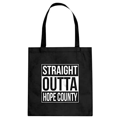 Indica Plateau Straight Outta Hope County Canvas Tote Bag
