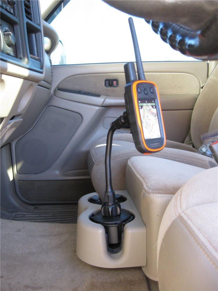 Soporte GPS para portavasos de coche para Garmin Astro o Alpha: Amazon.es: Coche y moto