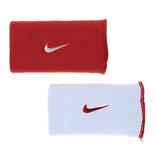 timeless design 91e34 ba429 Nike Dri-Fit Home   Away Doublewide Wristbands (1 Pair, One Size Fits
