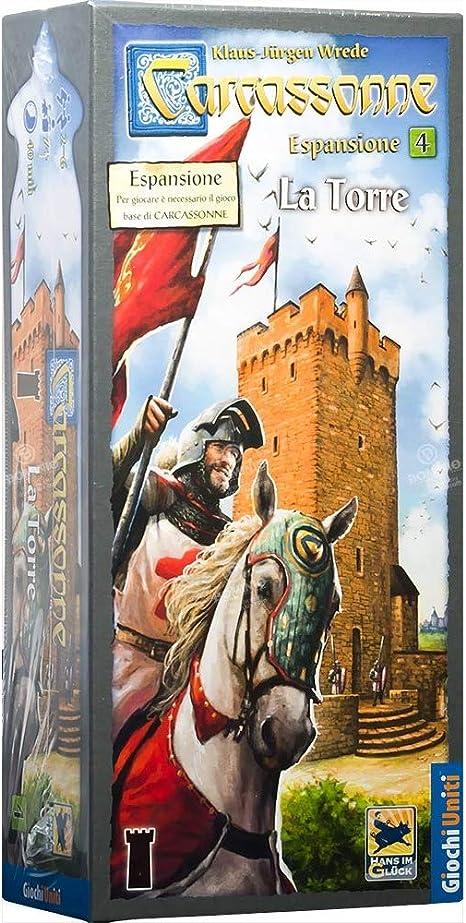 Giochi Uniti Carcassonne 5 La Torre - Juego de Mesa (versión en Italiano) [Importado de Italia]: Amazon.es: Juguetes y juegos