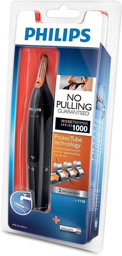 Philips NT1150 - Cortapelos nariz y oreja: Amazon.es: Salud y ...