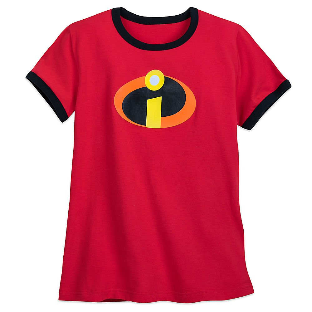 4a68eab9 Amazon.com: Disney Incredibles Logo Ringer T-Shirt for Womens 2xl Red:  Clothing