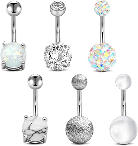 Steel  Surgical  Body Piercing Belly Button Rings Jewelry Navel Jewelry