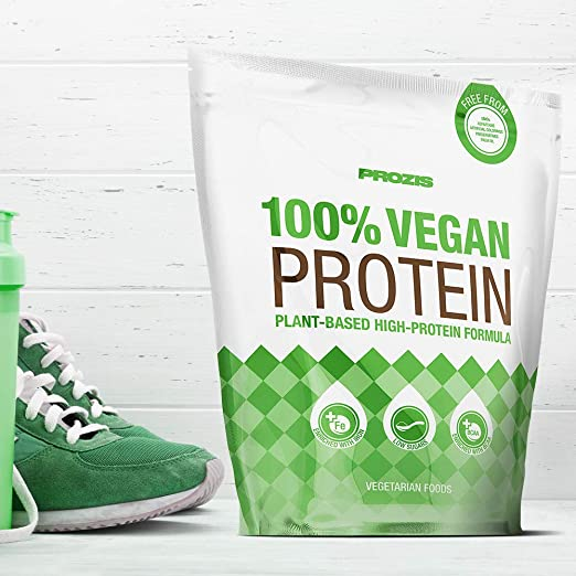Prozis 100% Vegan Protein 900 g Chocolate Pura Proteína Vegana En ...